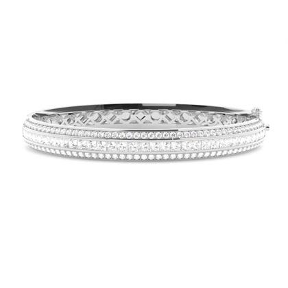 Blandede Former Diamant Armbånd