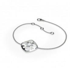 0.20ct. Pave Setting Round Diamond Delicate Bracelet