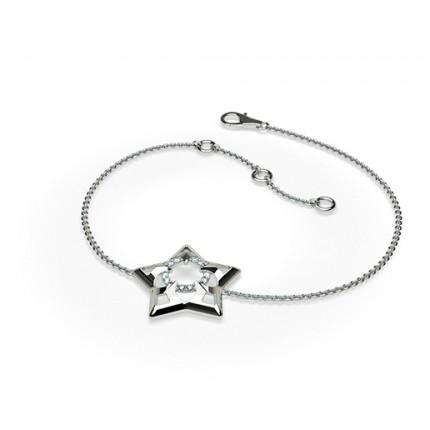 0.05ct. Kloinfattning Briljant Diamant Nätt Armband