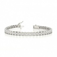 White Gold Diamond Tennis Bracelet
