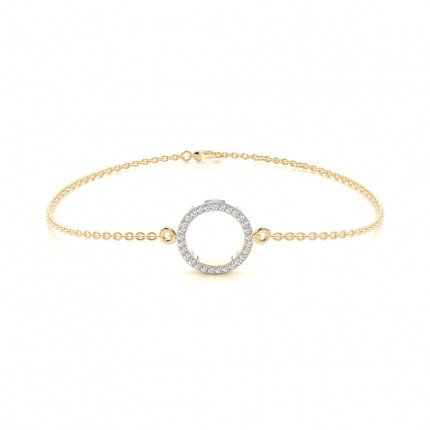 Micro Prong Setting Diamond Everyday Bracelet