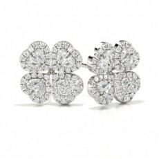 Round Designer Earrings