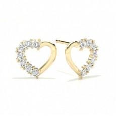 Gelbgold Diamant Ohrringe