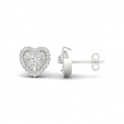 Boucles D'Oreilles Designer Diamant