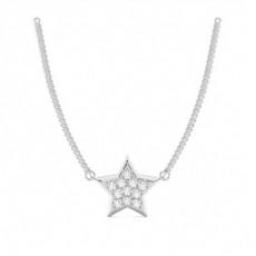 Platinum Designer Pendants Necklaces