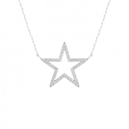 Micro Pave Setting Round Diamond Designer Pendant