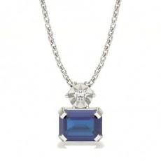 Emeraude Pendentif Diamant