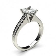 Prinzessin Seitenstein Diamantringe