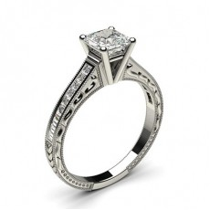 Asscher Cut Engagement Rings