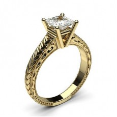 Asscher Diamond Rings