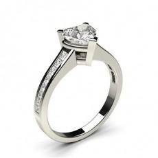 Heart Diamond Rings