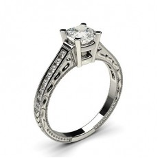 pute Side Stein Diamantringer