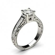 Kissen-Diamantring