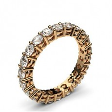 Rose Gold Diamond Eternity Rings