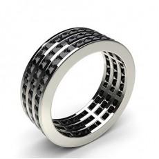 Platinum Black Diamond Rings