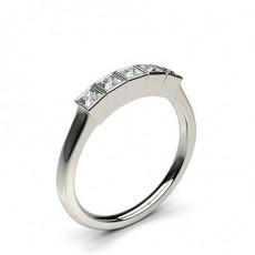 Princess Anelli con 5 diamanti