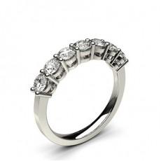 4 Klo Innfatning Glatt Syvstens Ring