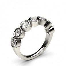 Komplett Ramme Innfatning Glatt Syvstens Ring