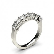 Princess Contemporary Engagement Rings