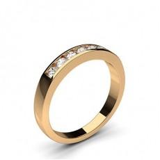 Rotgold 7 Diamanten