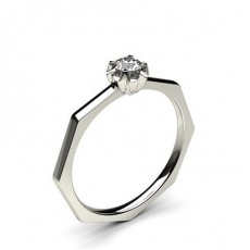 Rund Diamant Løfteringer