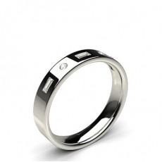 Mixed Shaped Wedding Rings