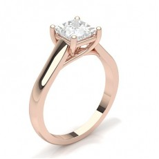 Rose Gold Classic Solitaire Engagement Rings