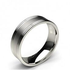 Platinum Mens Contemporary Wedding Bands Bands