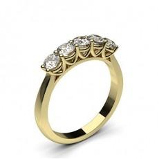 Gelbgold 5 Diamanten
