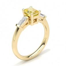 Gult Gull Gule Diamantringer