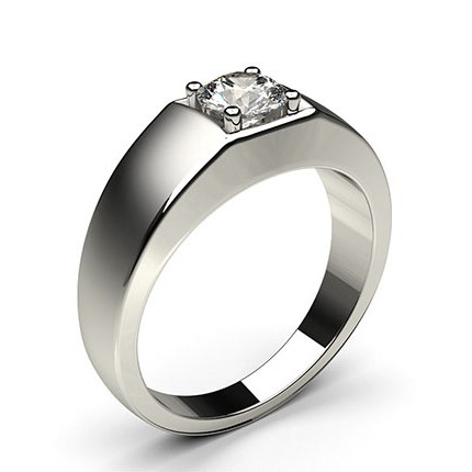 4-Kloinfattad Briljant Diamant Herring