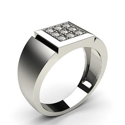 Pavéfattad Briljant Diamant Herring