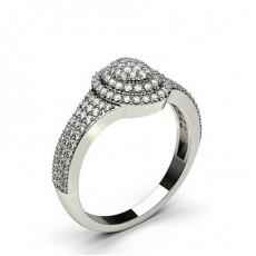 Rund Diamant Fashion Ringindfatning