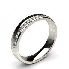 Frauen Platin Diamant Eheringe