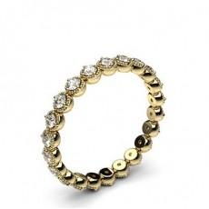 4 -Dels Indfatning Fuld Evigheds Diamant Ring