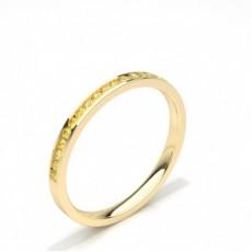 Oro giallo Anelli con diamanti gialli