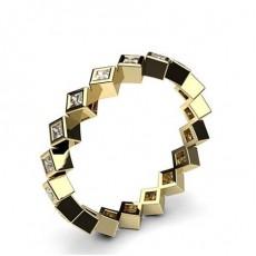 3.20mm Full Bezel Setting Full Eternity Diamond Ring