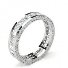 Full Eternity Platinum Diamond Rings