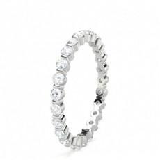 Rund Full Diamant Evighetsringer
