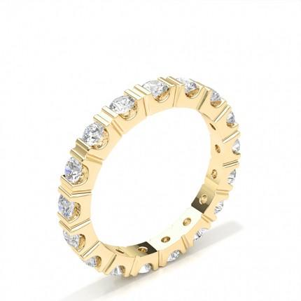 Bar Setting Full Eternity Diamond Ring