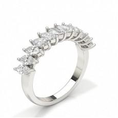 Marquise Anelli con diamanti eternity