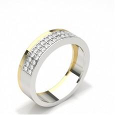 Brilliant Trauringe mit Diamant