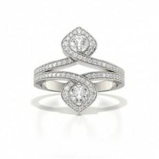 Bague Tendance Diamant Rond