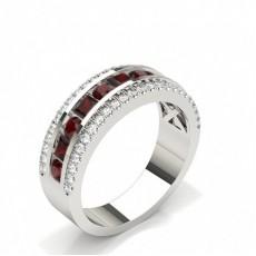 Rotondo Gemstone Rings