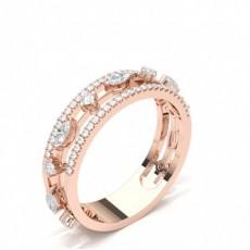 Pave Setting Diamond Fashion Ring