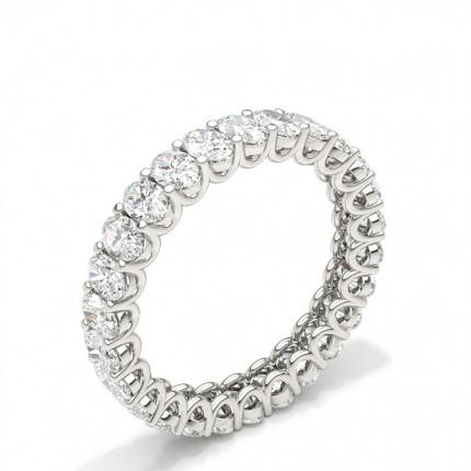 Diamant Memoirering in einer Krappenfassung