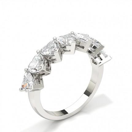 Klofattad Halvallians Diamantring