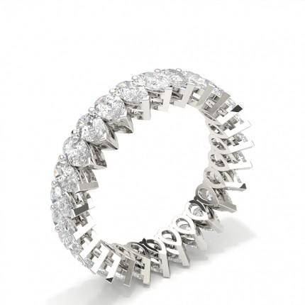 Anello Con Diamante Eternity Con Montatura A Griffe