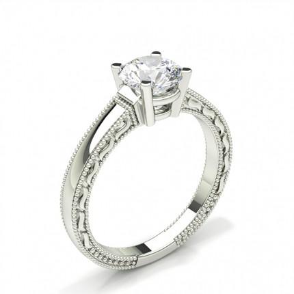 Diamant Forlovelsesringindfatning