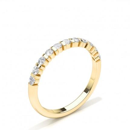Diamant Besat Halv Evigheds Vielsesring